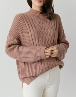 Comma high neck knit (* 5color)