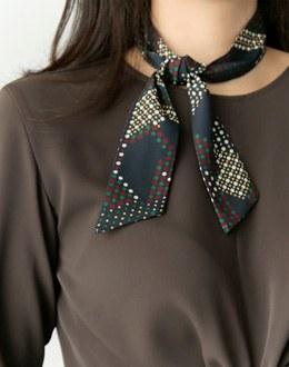 J. Art scarf (* 4color)