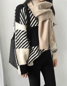 Susan's color scheme knit