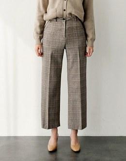 Glow Check pants (* 2color)
