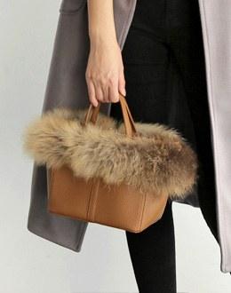 Raccoon shoulder bag (* 4color)