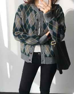 Wool Argyle cd (* 2color)