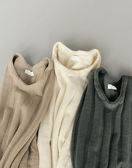 embossing Corrugated knit (* 3color)