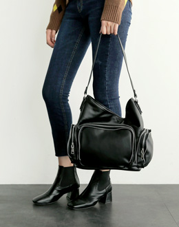 Pocket zipper bag (* 3color) # Same day shipping
