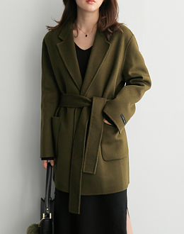 Chase Wool coat (* 2color)