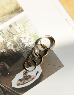 Devas set ring (* 2color)