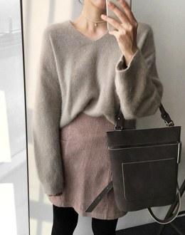 Alin Angora knit (* 5color)