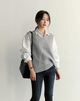Sonia vest (* 3color)
