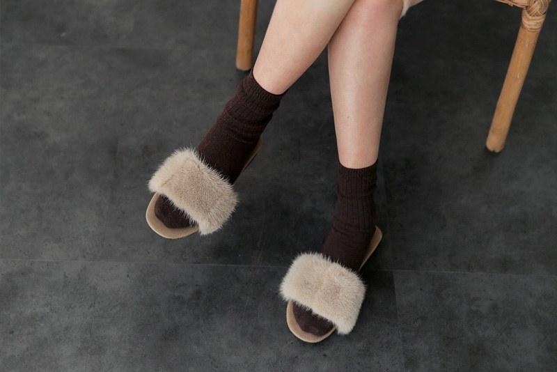 Puki mink shoes (* 2color)