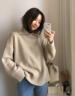 Cookie top knit (* 4color)
