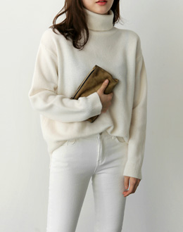 Wool Turtle knit (* 5color)