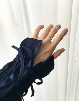 Elfinning set ring (* 3color)