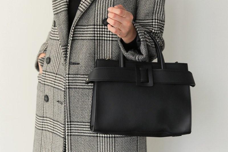 Belted shoulder bag (* 4color)