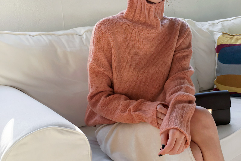 Dona Turtle knit (* 4color)