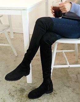 High-boots shoes (* 2color)
