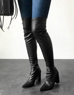 Long Boots shoes (* 2color)