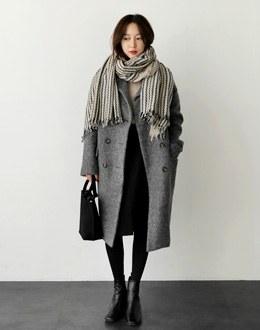 Kylie double coat (* 3color)