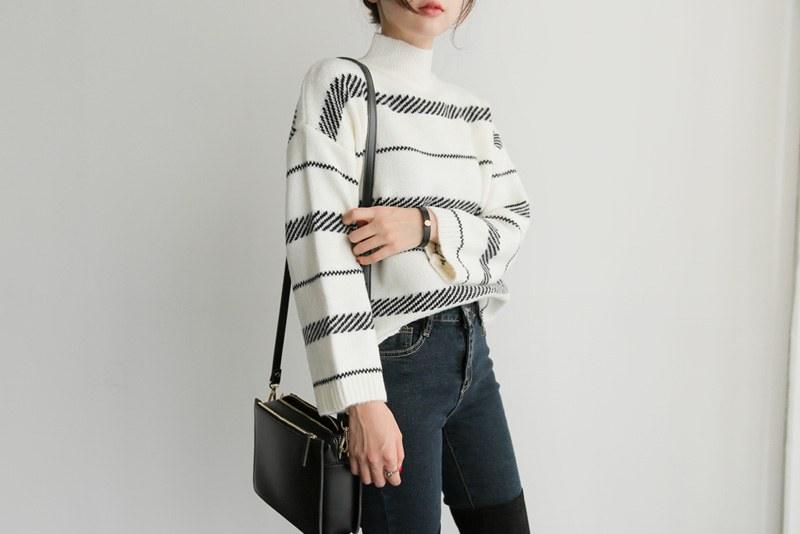 Bias knit (* 2color)