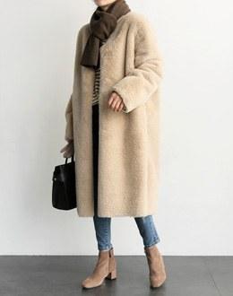 Reversi Fur coat (* 2color)