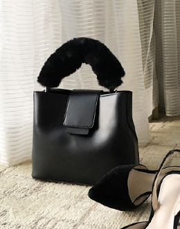 Fur bag (* 4color)