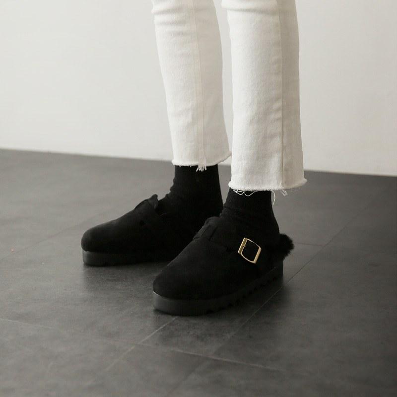 Buckle shoes (* 3color)