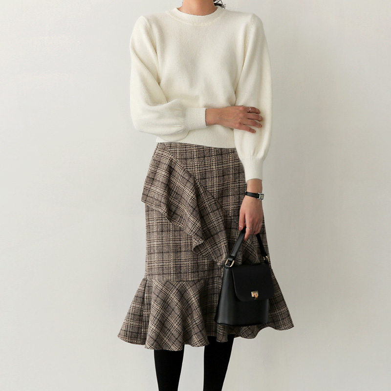 Rubin barium knit (* 3color)