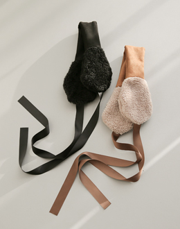 Tax ribbon earplugs (* 2color)