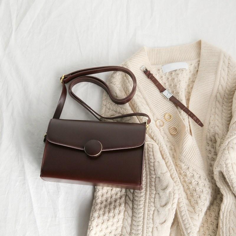 One button bag (* 3color)