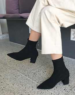 Ring-sharp middle shoes (* 3color)