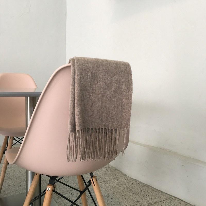 Wool muffler (* 2color)