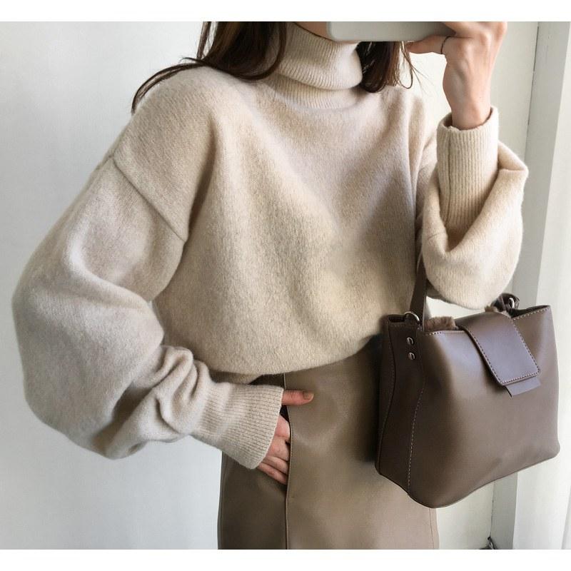 Alpha Wool Volume knit (* 3color)
