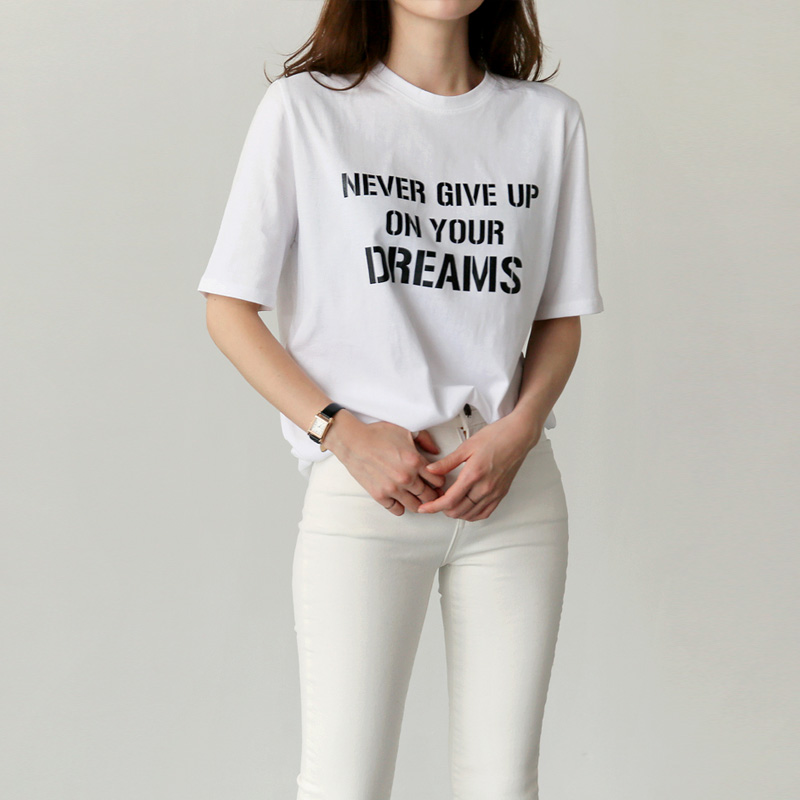 Dream lettering t (* 3color)