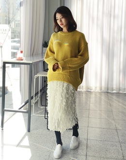 Love fiction knit (* 5color)