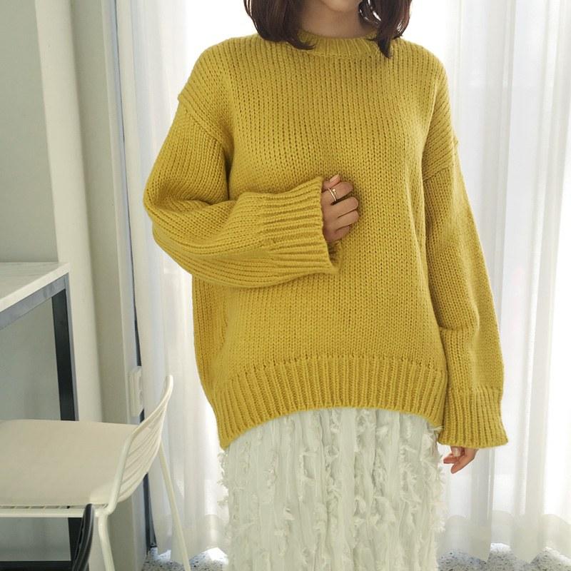 Love fiction knit (* 5color)