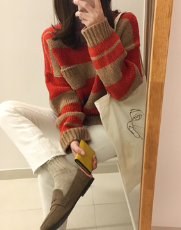 Picnic pocket knit (* 3color)