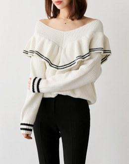Pretty open knit