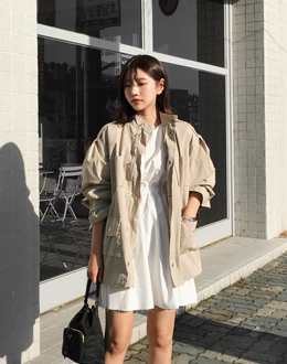 Kind field jacket jk (* 2color)