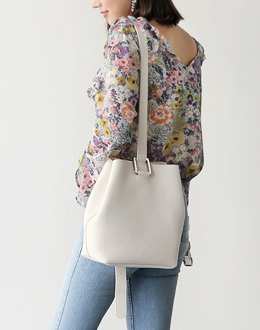 Della shoulder bag (* 3color)