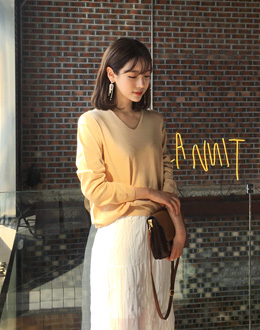 Rahael knit (* 5color)