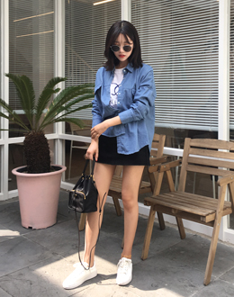 Button Denim nb