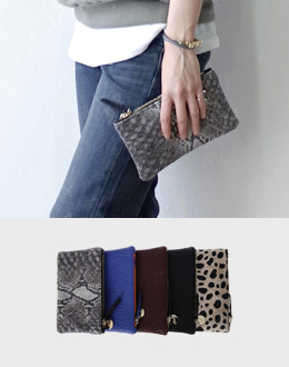 Wallet Pouch (* 5color) <br>
