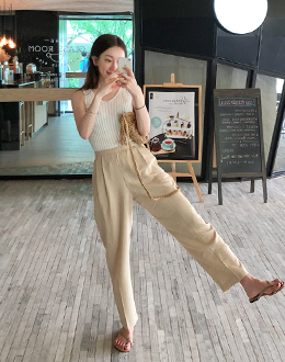 clean Slacks pants (* 3color)