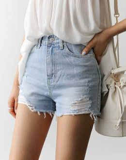 Vintage high-short pants