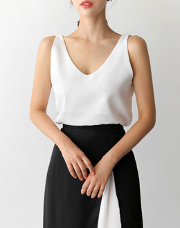 honey v Sleeveless shirts (* 4color)