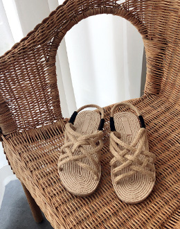 Rope Sandals shoes (* 2color)
