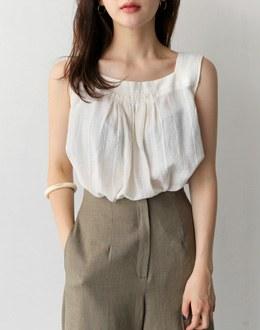 Sleeveless shirts bl (* 3color)