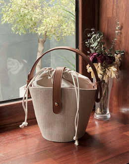Basket bag (* 2color)