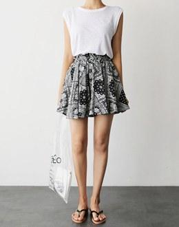 Bandana Short pants (* 2color)