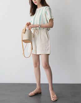 Harp Banding pants (* 3color)