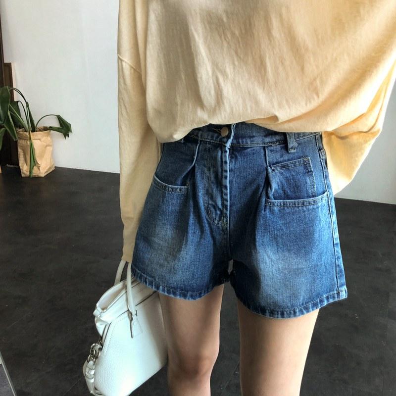 Pinch short pants